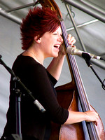 Miranda Sykes (with Show of Hands) - Spratton Folk Festival 2007