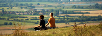 Relax on Ivinghoe Beacon, Dunstable Downs