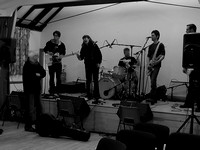 Stewboss & Dead Rock West sound check Tingewick Village Hall, January 26th 2008